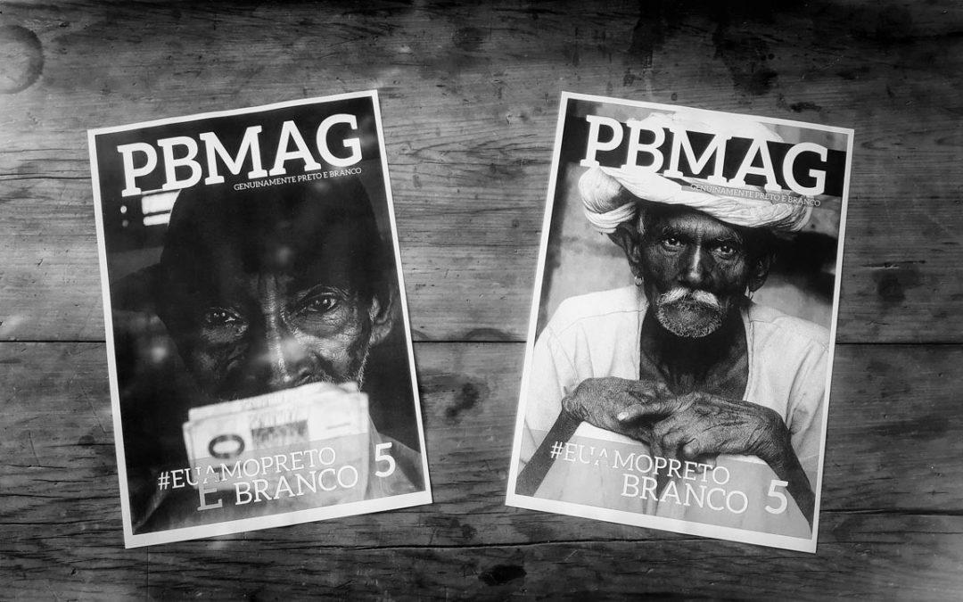 Escolha da capa da Revista PBMAG #5