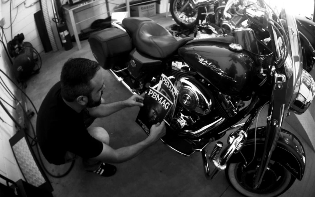 Tyto Neves Harley Davidson PBMAG