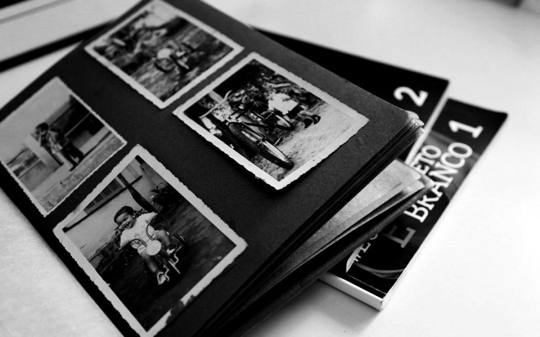 Histórias com a fotografia em preto e branco.