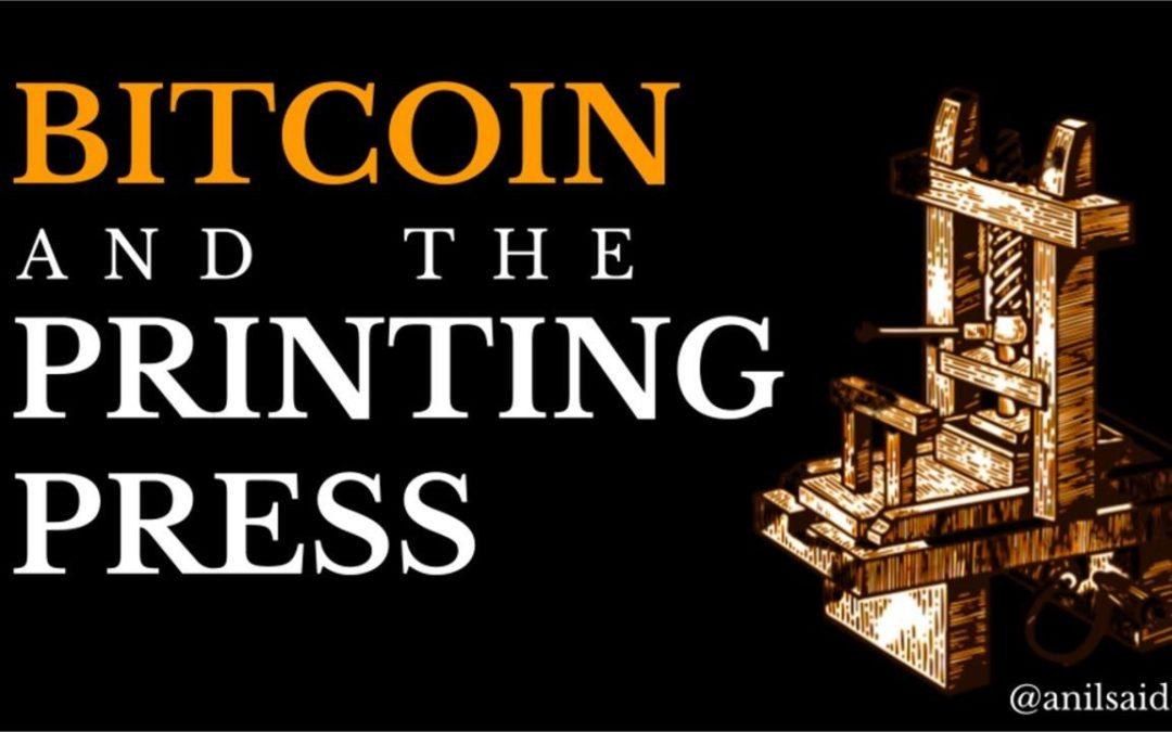 O Bitcoin é a Prensa de Gutenberg do Século XXI
